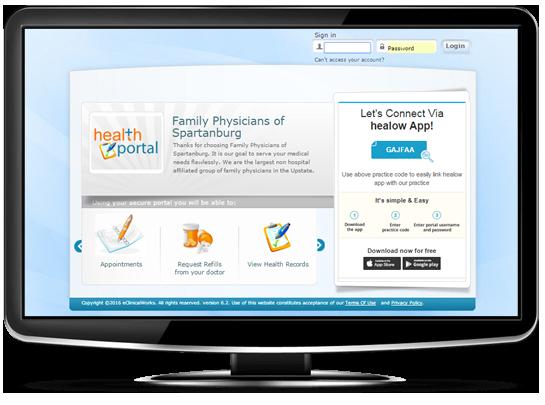 secure online patient portal  u0026 healow mobile app